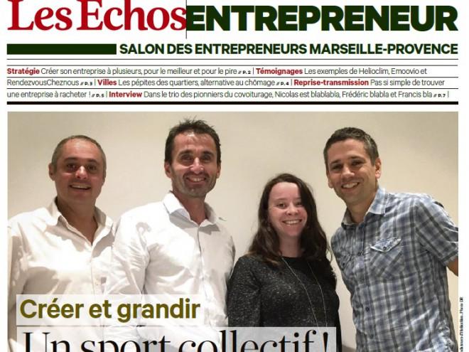 HLC-15-716 2015 10 14 Les Echos Entrepreneur page 1